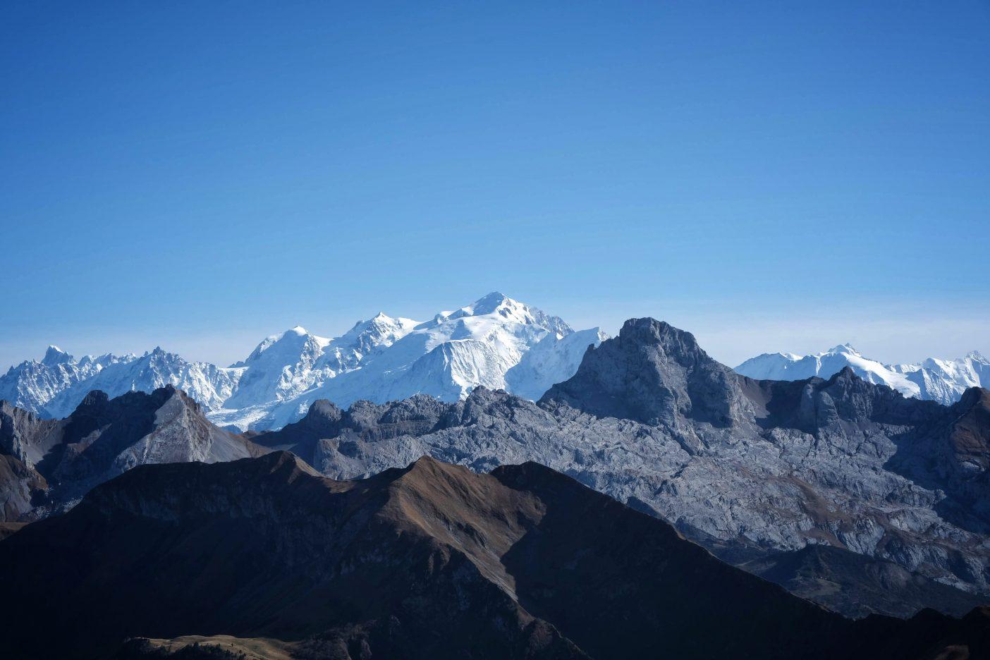 Mont Blanc Mountain, France
