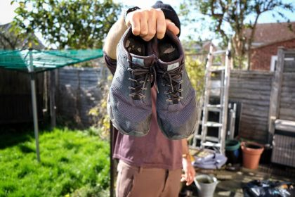 Men's vegan trail running shoes