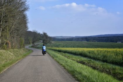 Cycle touring in France