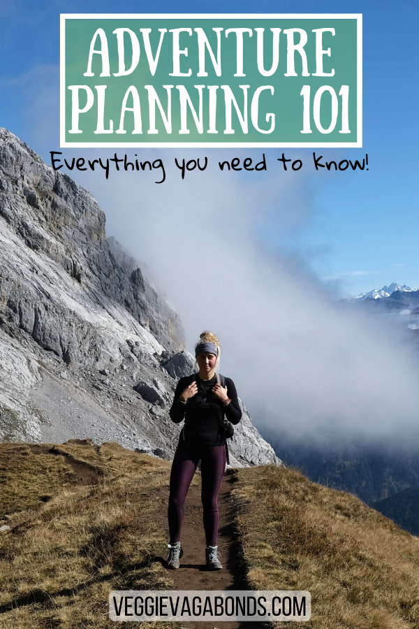 Adventure Planning pin