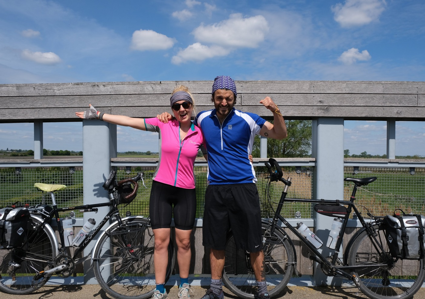Vegan cycle tourers
