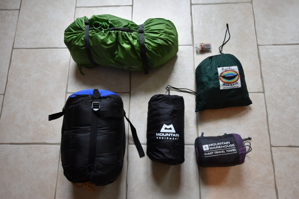 Camping sleeping gear