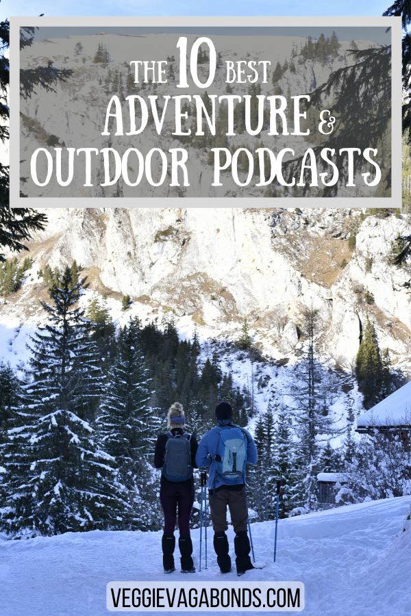 Outdoor Podcasts Pin