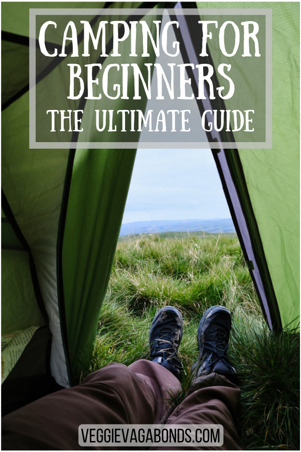 Camping for beginners pin