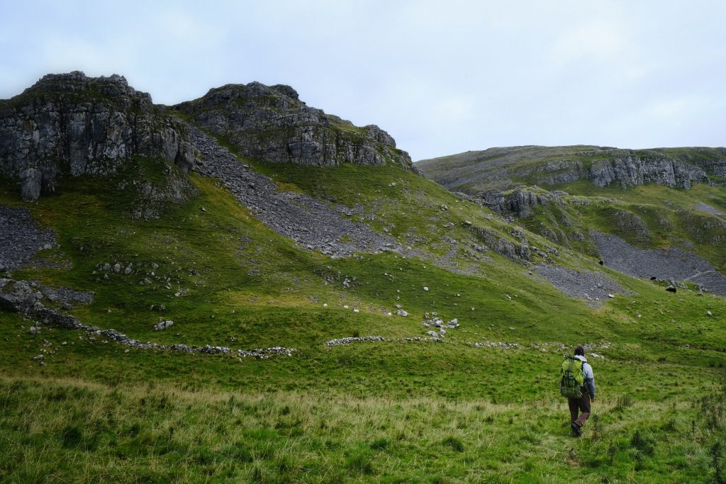 Finding a wild camping spot in the Yorkshire Dales