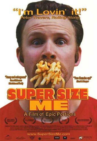 Super Size Me plant based diet documentary