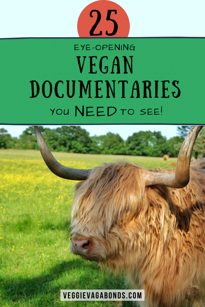 Vegan documentaries pin