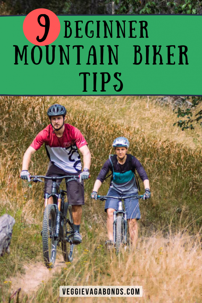 Beginner Mountain Biker Tips pin
