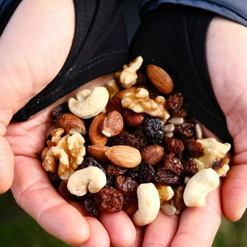 Raw vegan trail mix
