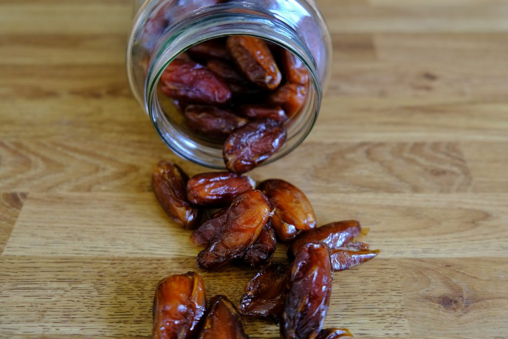 Jar of dates