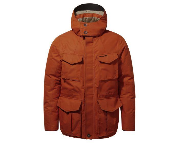 Craghopper men's winter coat Pember jacket recycled bottles