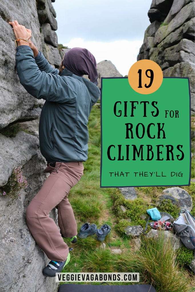 Gifts for Rock Climbers pin