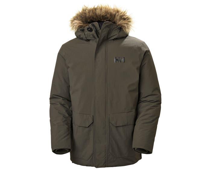 Helly henson men's classic parka coat for vegans