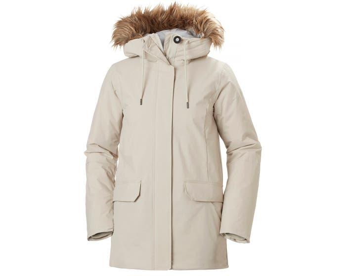Helly henson women's classic vegan parka coat