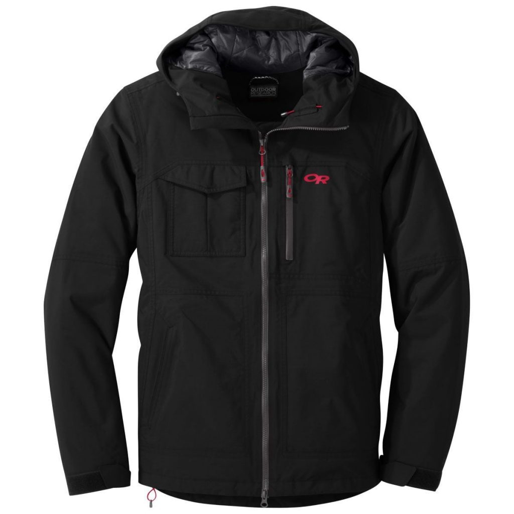 Men's Outdoor Research synthetic jacket for vegans