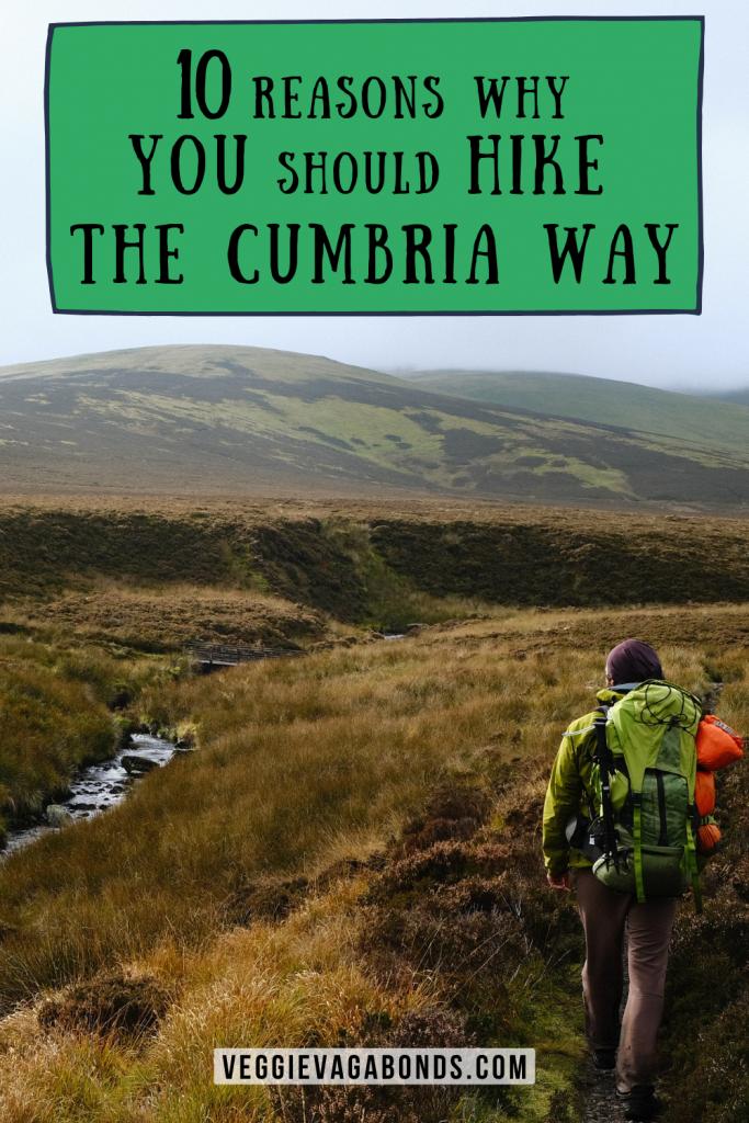 10 Reasons to Hike The Cumbria Way Pin