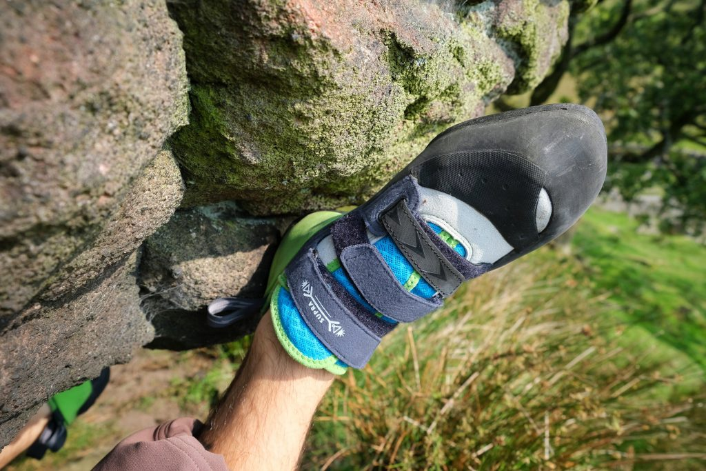 Elvolv Surpra climbing shoes