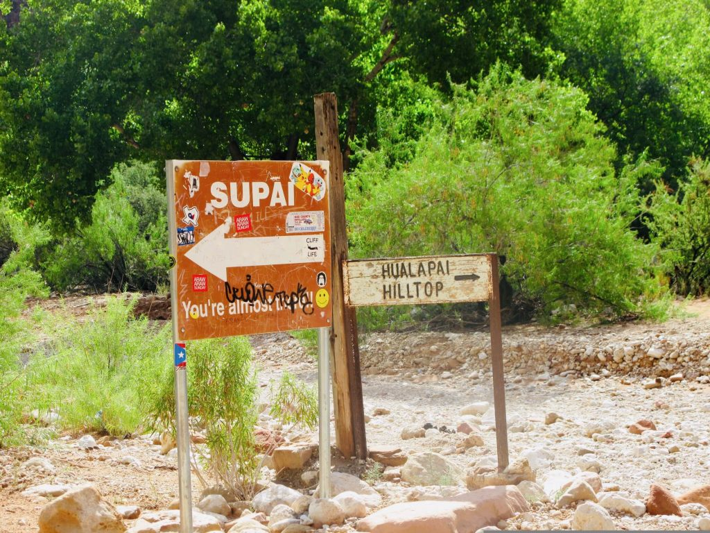 Supai Village, Havasupai