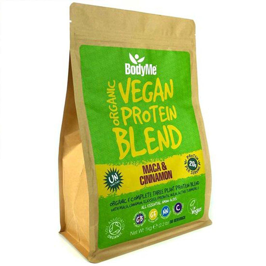 BodyMe Organic vegan protein powder