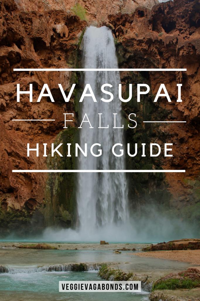 Havasupai Falls Hike Guide Pin