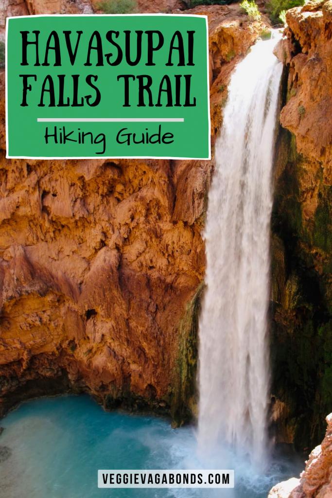 Havasupai Falls Hiking Guide Pin