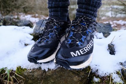 Merrell MTL Long Sky in snow