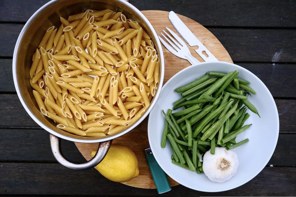 Vegan lemon pasta sauce