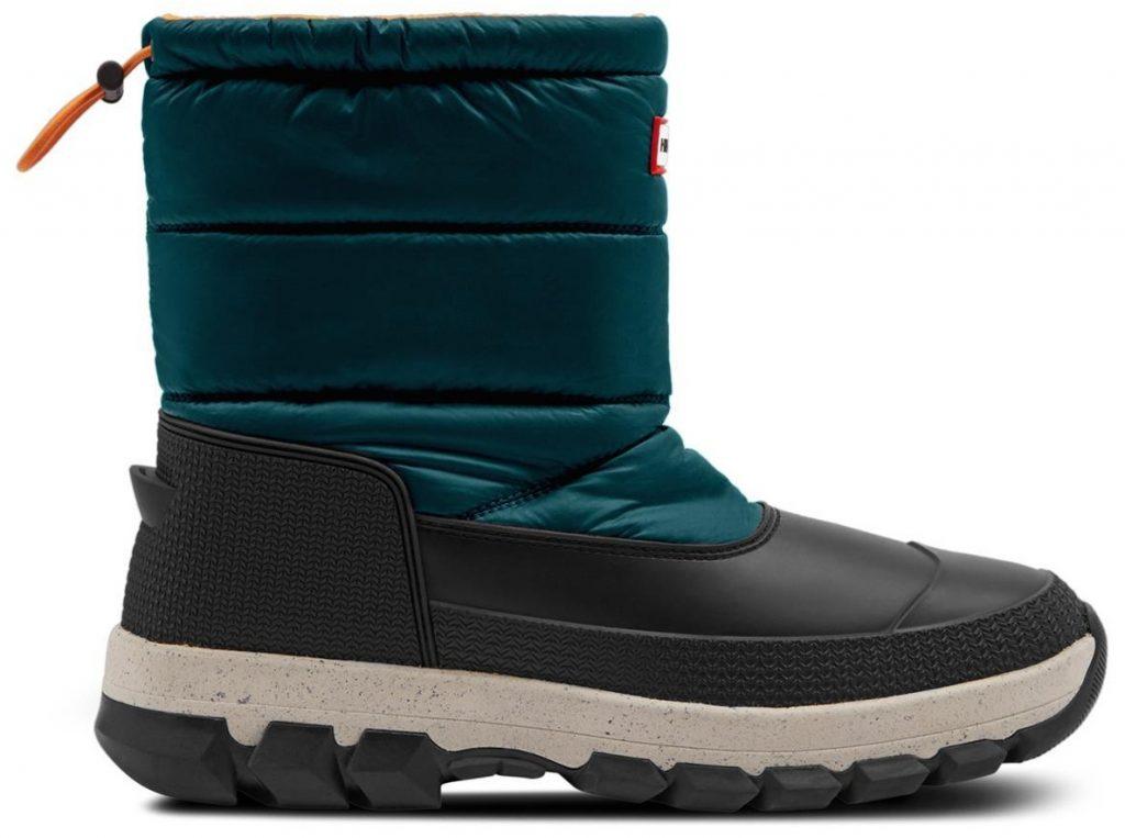 Hunter Mens Insulated Snow Short Vegan Waterproof Boots