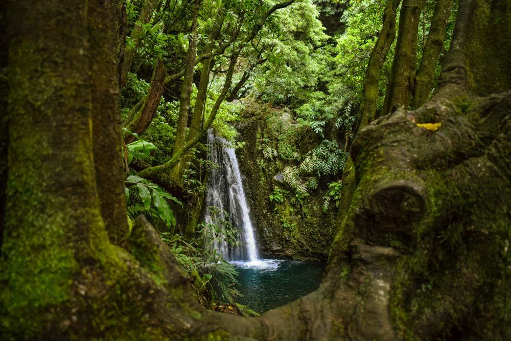 The Salto do Prego trail takes you to this stunning waterfalls