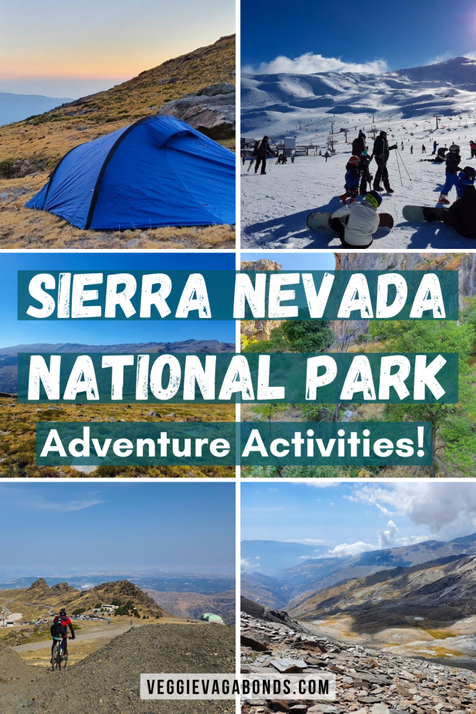 Sierra Nevada National Park Adventure Activities Pin