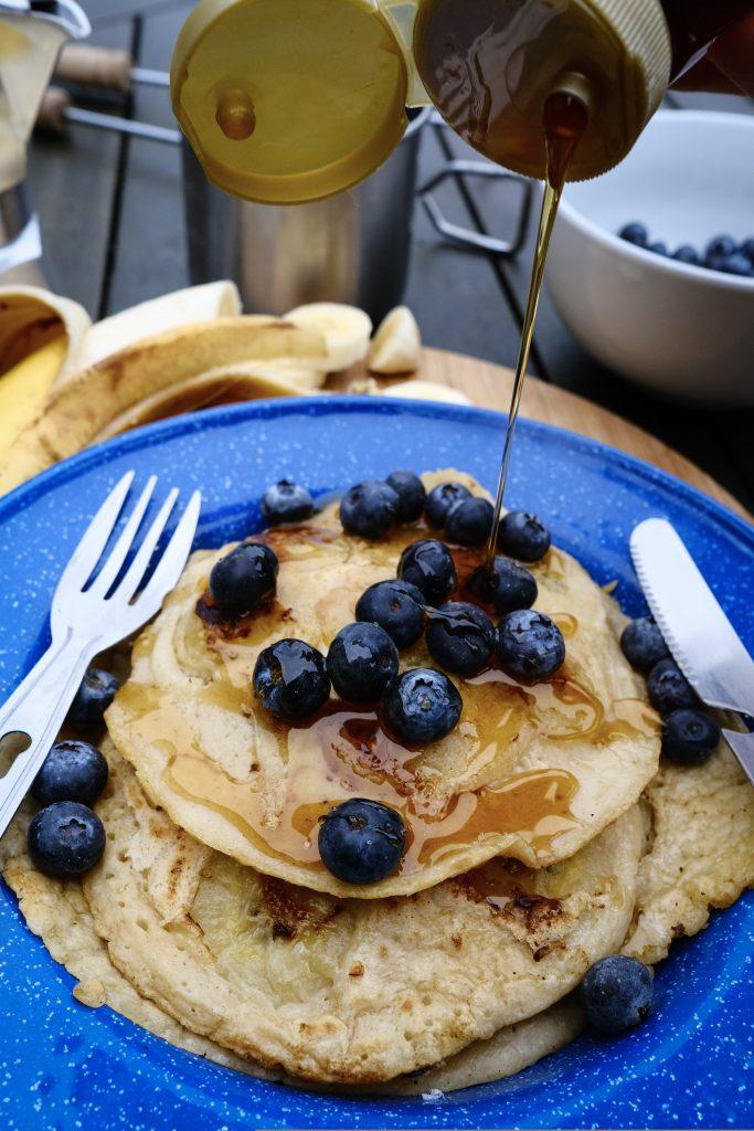 easy vegan banana pancakes 3 ingredients