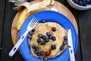 3 ingredients pancakes vegan