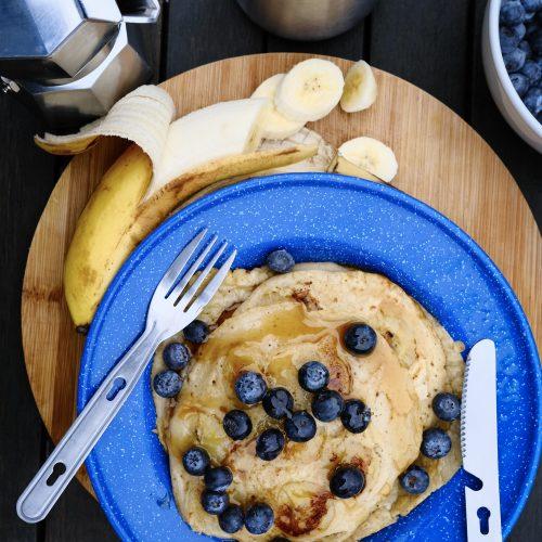 3 Ingredients Vegan Pancakes