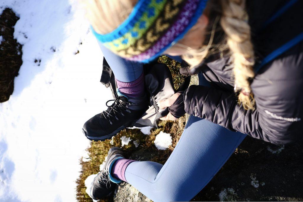 Gore-tex waterproof walking boots