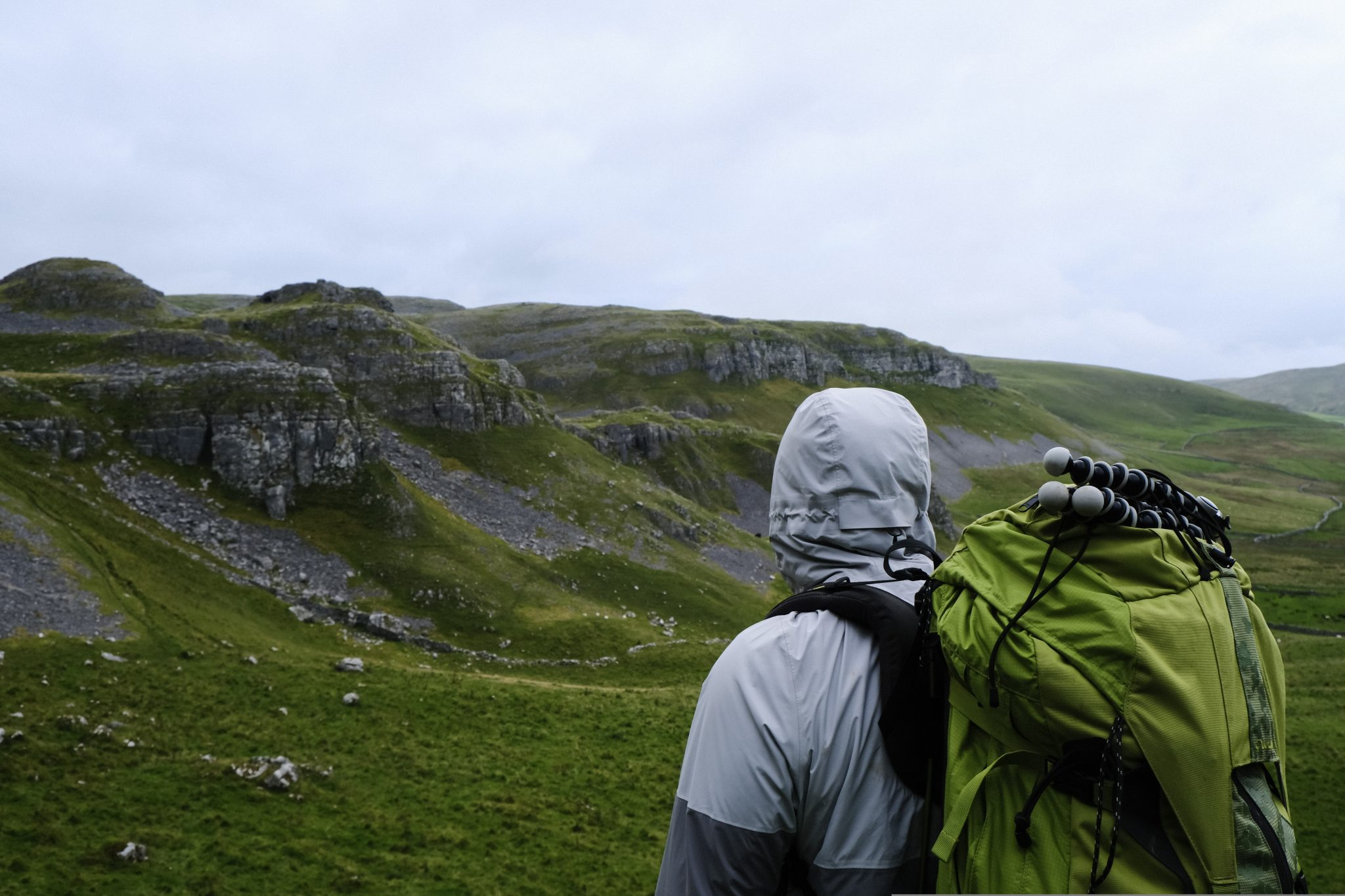 Man on a UK Multi-day hike