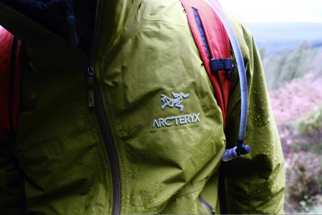 Arc'teryx waterproof jacket