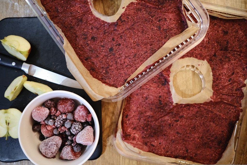Fruit leather homemade