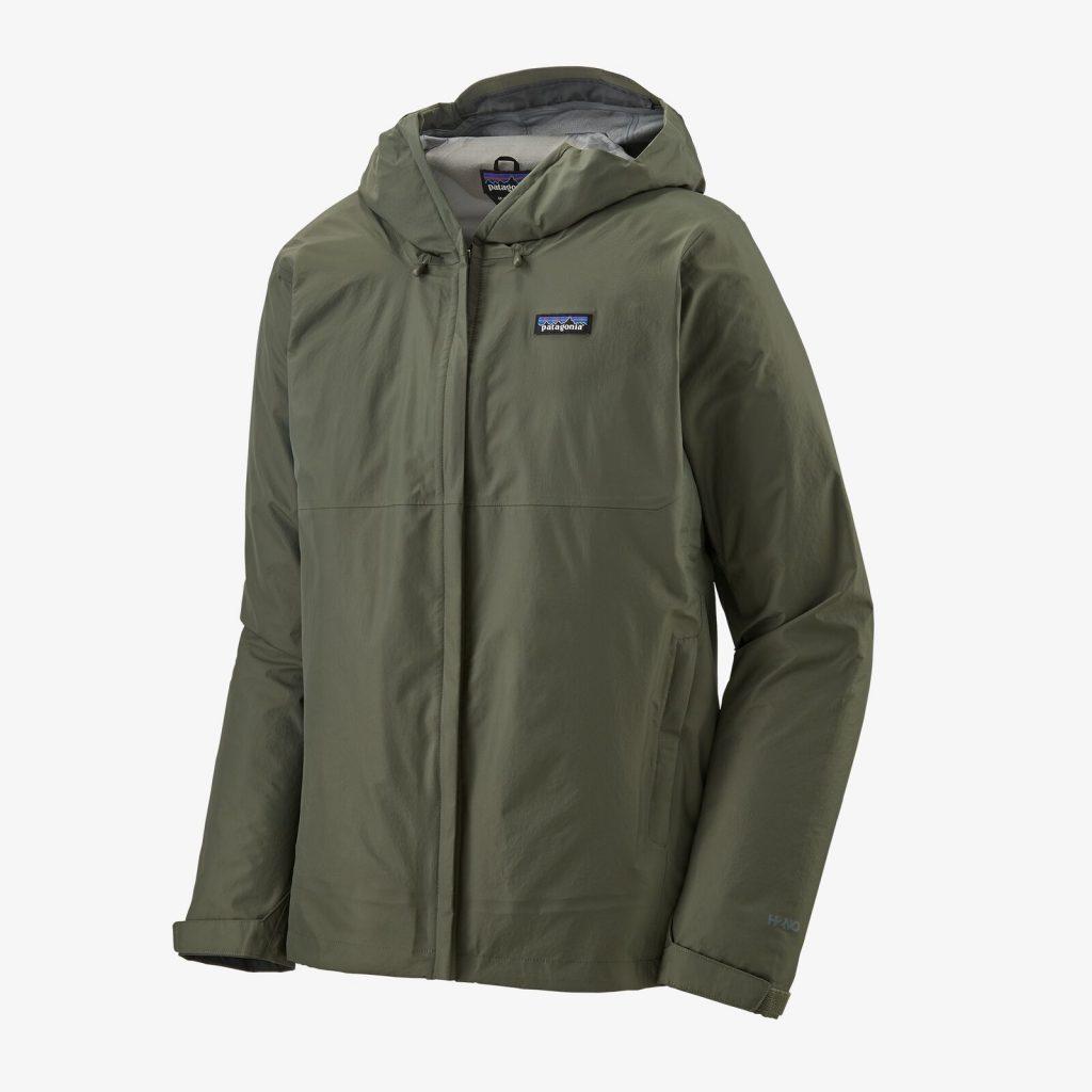 Patagonia Torrentshell 3L hiking rain jacket