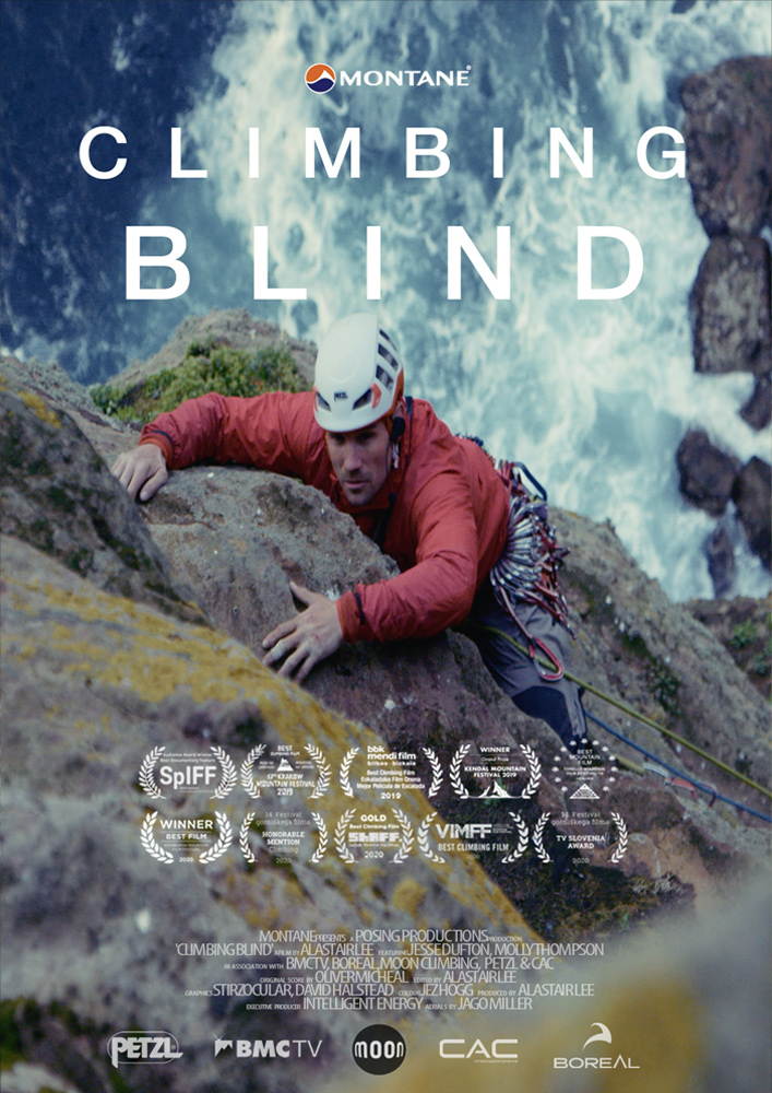 Climbing blind mountaineering film