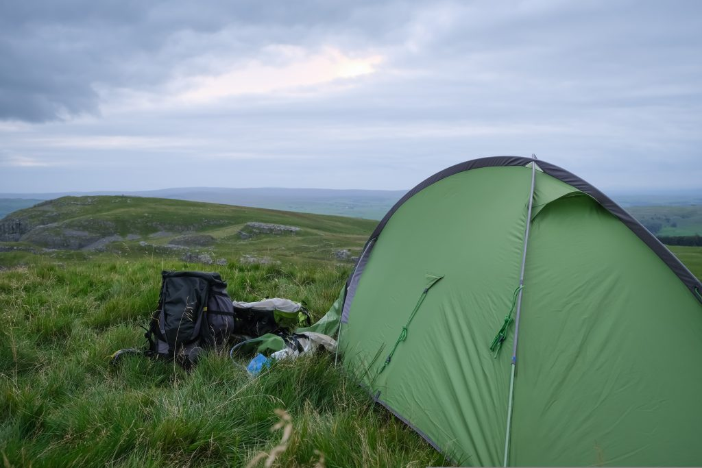 Camping in the Wild in England