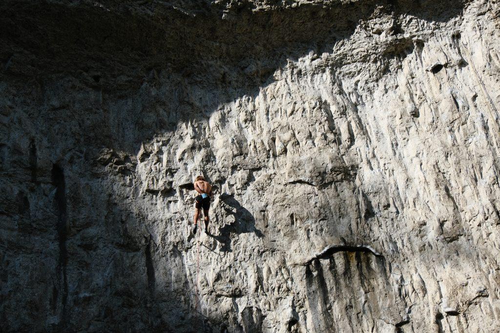 Climbing with used climbing gear