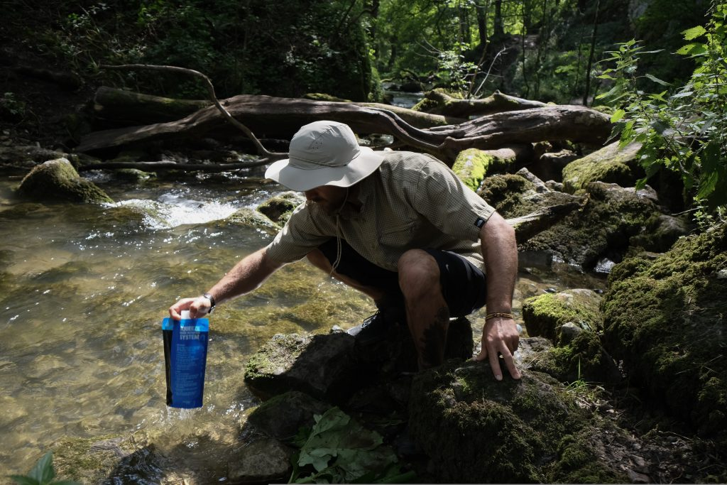 Sawyer water filter bottle review