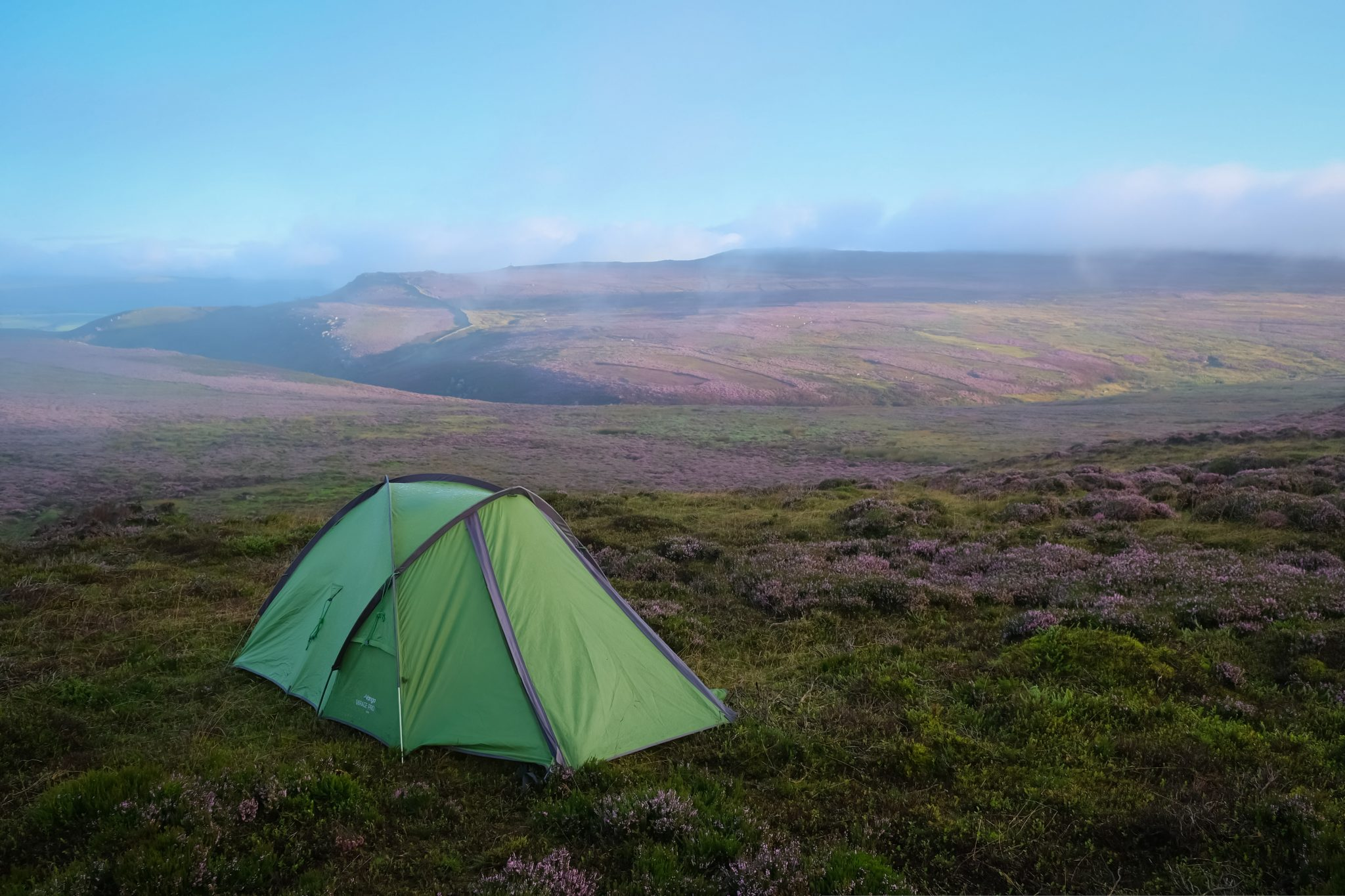 Wild camping in the yorkshire dales