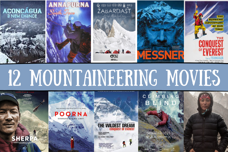 Mountaineering movies pin