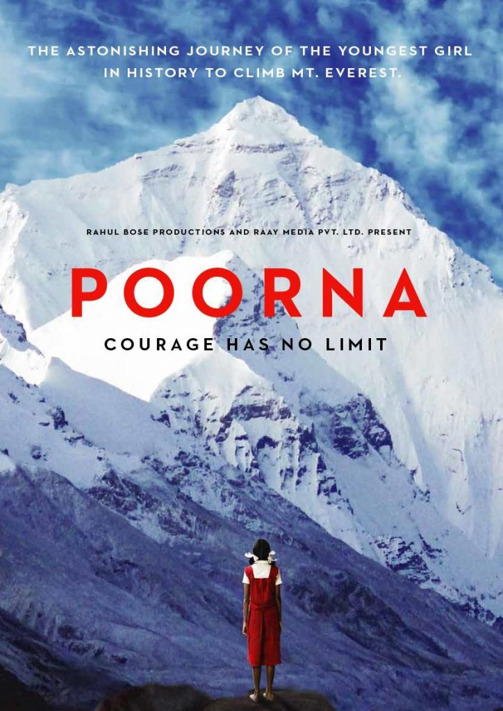 Poorna: Courage has no limits - mount everest movie