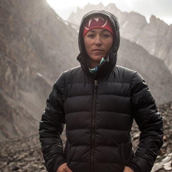 Women mountaineer