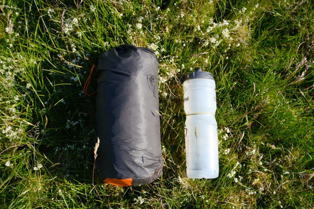 Vango F10 Project Hydrogen tent compressibility