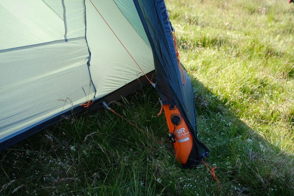 Vango airbeam camping tent