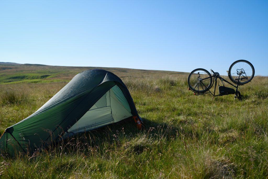 Vango f10 - 1-man bike touring tent
