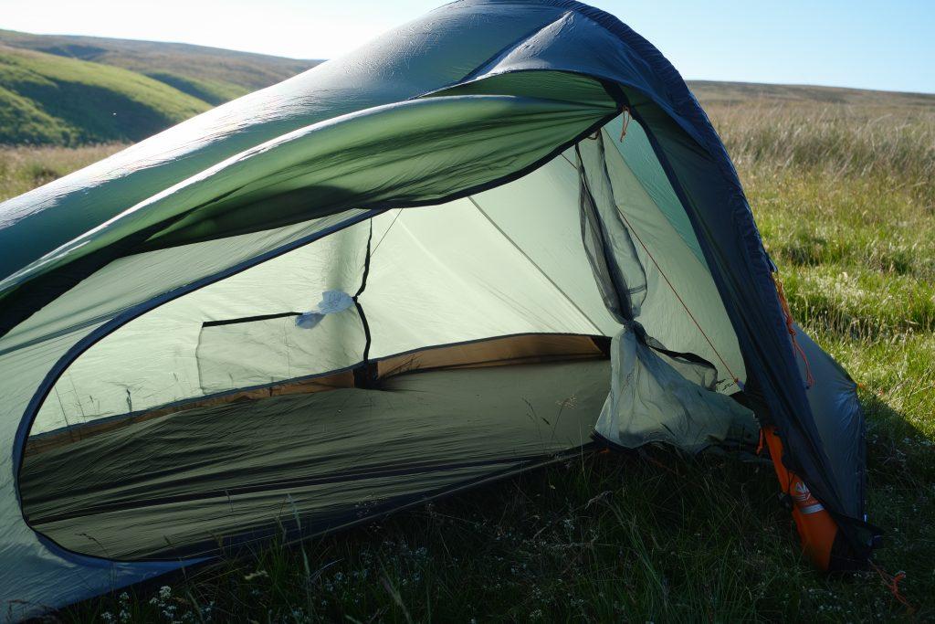 Inner tent - lightweight 1-person bikepacking tent